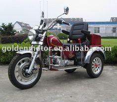 Troika 3 Wheel Luxury Trike Scooter Moped Motorcycle