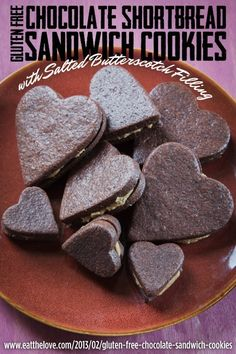 Gluten-Free Chocolate Sandwich Cookies With Butterscotch Filling | 33 Amazing Gluten-Free Desserts For Valentine's Day