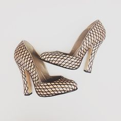 Marc Jacobs FW13 Fishnet Sequin Heels
