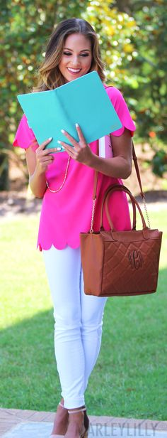 This Monogrammed Quilted Purse is ON SALE! Shop our Agenda Cover while you're at it for back to school!