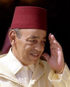 King HASSAN II of Morocco !