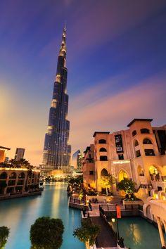 Burj Khalifa, Dubai, United Arab Emirates - Burj Khalifa is the...