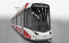 Vossloh TramLink die zukünftige Straßenbahn in Gmunden Train, Vehicles, Rolling Stock, Trains, Vehicle