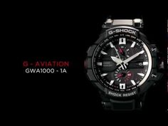 Casio G-Shock Highlights the GWA1000 Aviation Watch Series with Smart Access