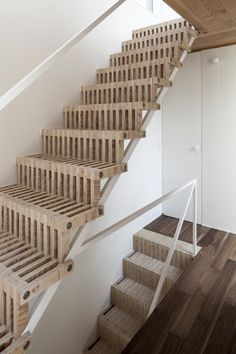 Detached Floor House / Jun Yashiki & Associates   #Staircase - Pinned onto ★ #Webinfusion>Home ★