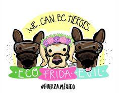 """22 Me gusta, 1 comentarios - Miss Tripolart® (@miss.tripolart) en Instagram: """"¡Eco & Evil no podían faltar! . . #eco #evil #frida #perrosrescatistas #pawpatrolmexicano…"""""""