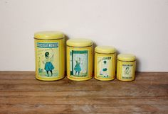Vintage French Promotional Chocolat Menier Tin by LaBelleRuche