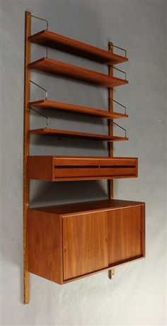 Royal System | Poul Cadovius | Mid Century Modern.  Oh, my grandma had this - where did it go...