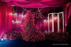 #weddingdecor #decor #decorideas #decorgoals #weddinginspo #indianwedding #weddingdecoration #weddingdecorator #weddingdecorinspiration #weddingdecorationideas Silver Gown, Thailand Wedding, Cruise Wedding, Wedding Function, Graduation Day, Lush Green, Pink Satin, Celebrity Weddings, Newlyweds
