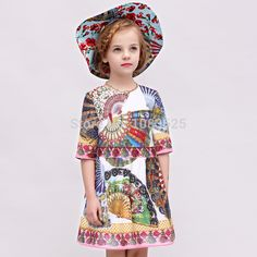 Beenira Children Autumn Dresses 2017 New European And American Style Pattern Printed Kids Clothes Dress Design Girls Dress Boys Fall Fashion, Baby Boy Fashion, Fall Dresses, Girls Dresses, Summer Dresses, Dress Outfits, Kids Outfits, Kids Clothing Brands, Toddler Costumes