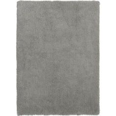 Buy Super Soft Deep Pile Shaggy Rug - 160x230cm - Grey Mist at Argos.co.uk, visit Argos.co.uk to shop online for Limited stock Home and garden, Home furnishings, Rugs and mats