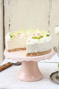 Limetten-Kühlschrank-Torte