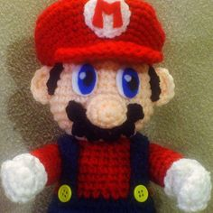 Grab this Super Cute FREE Super Mario Amigurumi Pattern. Browse more Mario Patterns or other Video Game Characters, and many other Genres • wixxl.com
