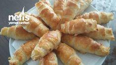 Puf Puf Kabaran Katmer Börek – Nefis Yemek Tarifleri Hot Dog Buns, Hot Dogs, Pitaya, Shrimp, Bread, Food, Breads, Bakeries, Meals