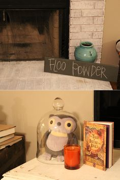 Fun decoration that would add to the ambiance at a Harry Potter party