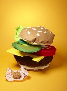 Mega Burger Cushion