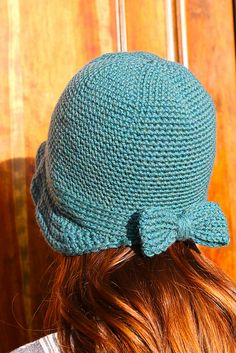 Ravelry: The Flapper Hat pattern by Sara Dudek