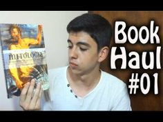 Book Haul #01 - Mitologia, sorteio, compras e Guiness