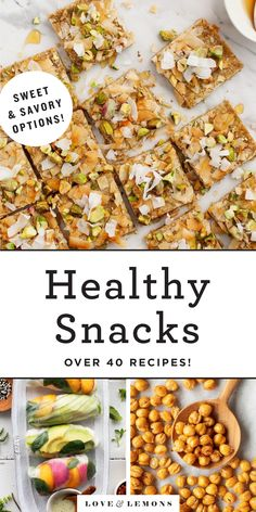 47 Best Healthy Snacks Recipe - Love and Lemons Vegetarian Recipes, Snack Recipes, Dinner Recipes, Healthy Recipes, Free Recipes, Healthy Desserts, Delicious Recipes, Lunch Snacks, Cheap Meals