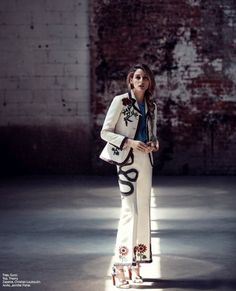 Pin for Later: You'll Want Everything Olivia Palermo Is Wearing in This Dreamy New Shoot