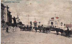 Constanta - Bulevardul Regina Elisabeta - antebelica Old Photos, Beautiful Places, Memories, Painting, Littoral Zone, Cousins, Old Pictures, Memoirs, Souvenirs
