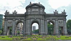 Madrid.Puerta se Alcala. Photo:T.Graffe