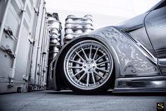 Looks silver, drives like gold. http://www.carid.com/savini-wheels/