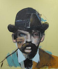 http://www.5piecesgallery.com/product/daniel-lumbini-serial-pioneer-portrait-of-h-h-holmes