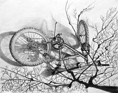 105 Best Bike drawings images in 2016 | Bicycle drawing
