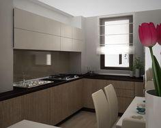 idei living apartament - Căutare Google Kitchen Design, Kitchen Cabinets, Design Ideas, Google, Home Decor, Houses, Cuisine Design, Decoration Home, Room Decor