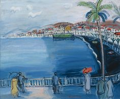 View NICE, LA BAIE DES ANGES By Raoul Dufy; Oil on canvas; Access more artwork lots and estimated & realized auction prices on MutualArt. Raoul Dufy, Art Fauvisme, Art Moderne, Henri Matisse, Illustrations, Art Plastique, Art Day, Kandinsky, Oil On Canvas