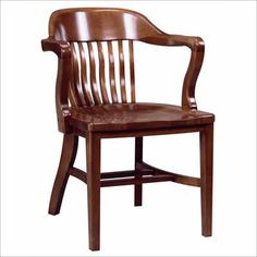 ACF-688 Wooden Arm Chair. Availability: Build to Order. Minimum order of 4. Classic wood chair for your restaurant/dining needs. All frames constructed of solid beech. Solid wood seat. One year warranty.