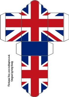 A red, white and blue design to celebrate the Jubilee, Olympics or any patriotic event