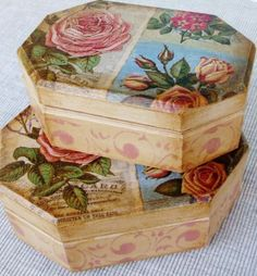 Ideas/ Decoupage.-