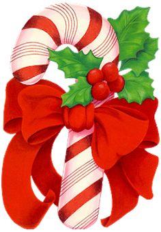 CHRISTMAS CANDY CANE CLIP ART