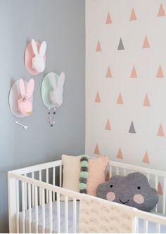 Rautenmuster An Der Wand Mit Blauer Und Weißer Farbe | Wände | Pinterest |  Weiße Farben, Rautenmuster Und Blau Und Weiß