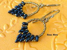 Con perlas y a lo loco...: Pendientes para diciembre PE.0393 - With pearls ... It Hot: Earrings for December PE.0393