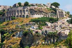 Photo about Gerace, a small town located quite close to the city of Reggio Calabria. Image of italy, house, calabria - 23887192 Calabria Italy Map, Calabria Italia, Sardinia Italy, Tropea Italy, Italy Vacation, Vacation Places, Italy Travel, Places To Travel, Vacation Deals