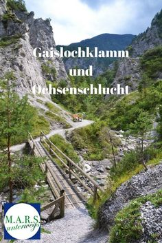 Wanderung in die Gaislochklamm und in die Ochsenschlucht bei Berg im Drautal, Kärnten, Österreich