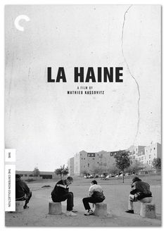 cover for Mathieu Kassovitz's La Haine at the Criterion Collection. La Haine Film, The Criterion Collection, Film Movie, Movies, Film Images, Movie Magazine, Film Inspiration, Design Inspiration, Alternative Movie Posters