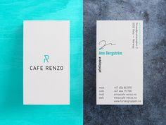 Cafe Renzo Piano - Business Card