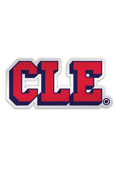 CLE College Ballpark - Sticker – CLE Clothing Co. Cle Browns 7c0f80cf5b60
