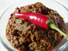 The Hirshon Adzhika (Georgian Hot Pepper Relish) - აჯიკა Also spelled Ajika or Adjika in English Georgian Kitchen, Georgian Cuisine, Georgian Food, Georgian Recipes, Hot Pepper Relish, Wine Recipes, Cooking Recipes, Salad Recipes, New Zealand Food