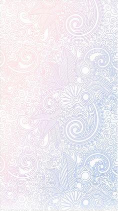 Pastel Zentangle Wallpaper