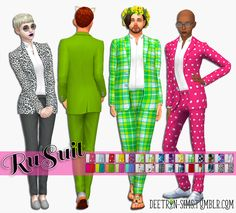 Sims 4 CC's - The Best: Clothing by Deetron Sims
