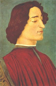 Giuliano de Medici. Botticelli, 1478