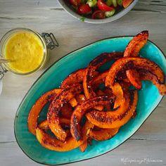 Hokkaido pumpkin fries - another great alternative to potato fries --> MyCopenhagenKitchen.com