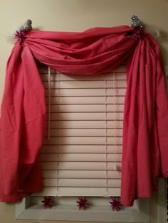 fishtail swag curtains how to make
