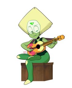 peridot lay down some sweet tunes to take me away ~~~~