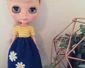 Daisy skirt handmade for Blythe